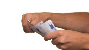 Pieniądze na dowód